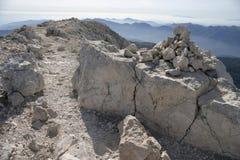 Camino en la montaña imágenes de archivo libres de regalías