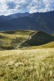 Camino en las montañas Fotografía de archivo