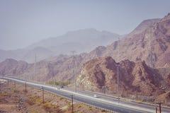 Camino en montaña Imagenes de archivo
