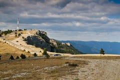 Camino en montañas Foto de archivo