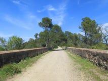 Camino en naturaleza Foto de archivo libre de regalías