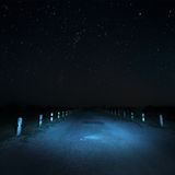 Camino en oscuridad Imagen de archivo libre de regalías