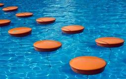 Camino en piscina Imágenes de archivo libres de regalías