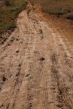 Camino en pueblo Foto de archivo