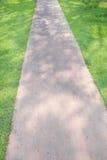 Camino en un jardín Fotografía de archivo libre de regalías