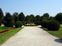 Camino en un jardín Fotos de archivo