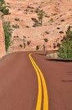 Camino en Zion Imagen de archivo
