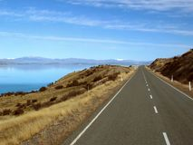 Camino escénico de la montaña Imagen de archivo