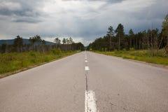 Camino a Eslovenia Imágenes de archivo libres de regalías