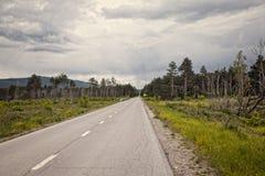 Camino a Eslovenia Foto de archivo