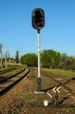 Camino ferroviario Imagen de archivo libre de regalías