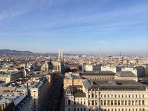 Camino gótico Wien de la catedral imagen de archivo libre de regalías