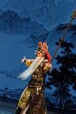 Camino general Plum Blossom Prize Art Troupe sección-china Foto de archivo