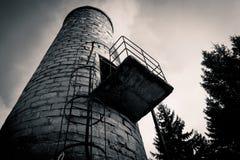 Camino industriale Fotografia Stock