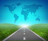 Camino internacional Foto de archivo libre de regalías
