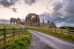 Camino a la abadía de Egglestone Fotos de archivo