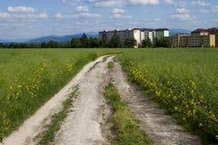 Camino a la ciudad Foto de archivo