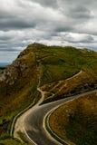 Camino a la cumbre de la colina, Te Mata Peak, Hastings Foto de archivo
