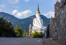 Camino a la estatua de Buda fotografía de archivo libre de regalías