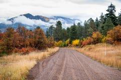 Camino a la montaña Imágenes de archivo libres de regalías