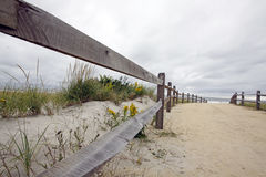Camino a la playa Imagenes de archivo