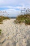 Camino a la playa Foto de archivo