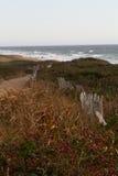 Camino a la playa Fotos de archivo