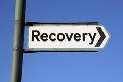 Camino a la recuperación Fotos de archivo libres de regalías