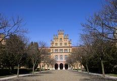Camino a la universidad de Chernivtsi Imágenes de archivo libres de regalías