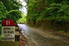 Camino largo Foto de archivo