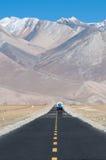 Camino largo a continuación Fotos de archivo