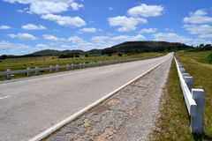 的Camino las colinas 库存照片