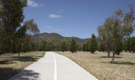 Camino a las colinas Fotografía de archivo libre de regalías