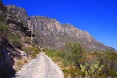 Camino a las montañas foto de archivo