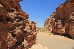 Camino a las rocas fotos de archivo libres de regalías