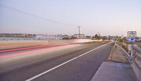 Camino lateral de la playa Imagen de archivo