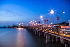 Camino lateral de mar Foto de archivo