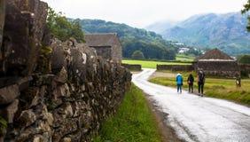 Camino lateral del país fotos de archivo libres de regalías