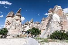 Camino leggiadramente Cappadocia Immagini Stock Libere da Diritti