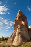 Camino leggiadramente in Cappadocia, Turchia Immagini Stock Libere da Diritti