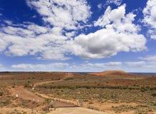Camino llano del oeste de la colina del franco Foto de archivo