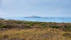 Camino a lo largo del mar Foto de archivo