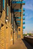 Camino a lo largo del Támesis, Londres Imagenes de archivo