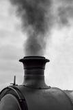 Camino locomotivo di fumo Fotografia Stock