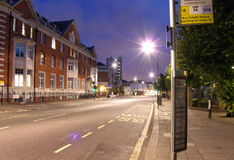 Camino Londres de la grada Imagen de archivo libre de regalías