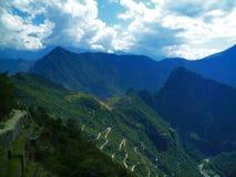 Camino a Machu Picchu foto de archivo