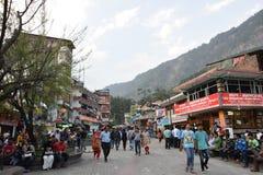 Camino Manali de la alameda fotos de archivo