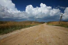 Camino meridional abandonado Fotografía de archivo