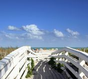 Camino a Miami Beach Foto de archivo