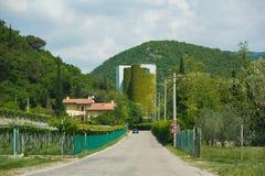 Camino a Molina, Italia Foto de archivo